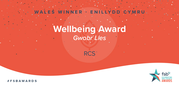 RCS scoops Wellbeing Award